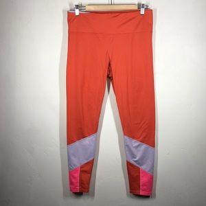 Joy Lab orange leggings size large
